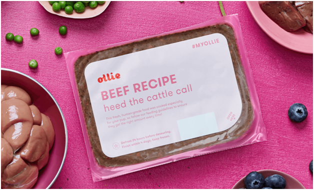 ollie review package of beef recipe