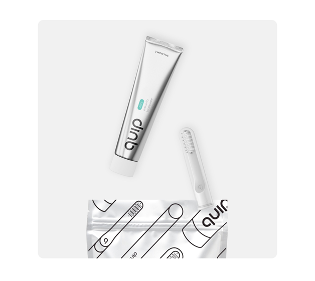quip toothbrush review package toothbrush and paste