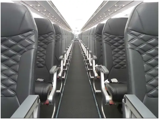 frontier review airline seats