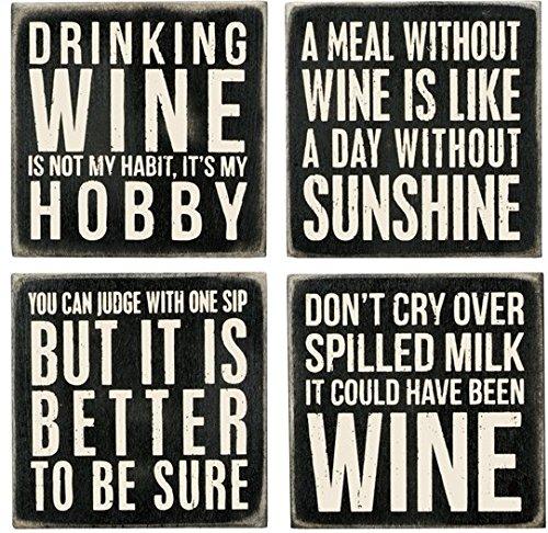 wine coasters funny
