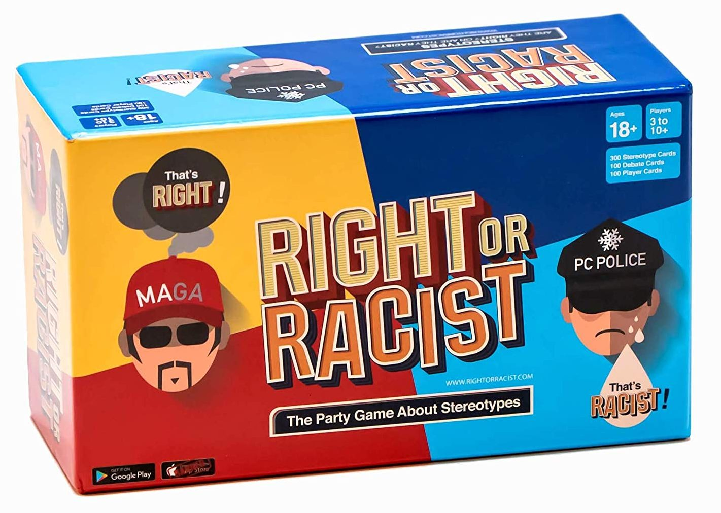 right of racist book gift
