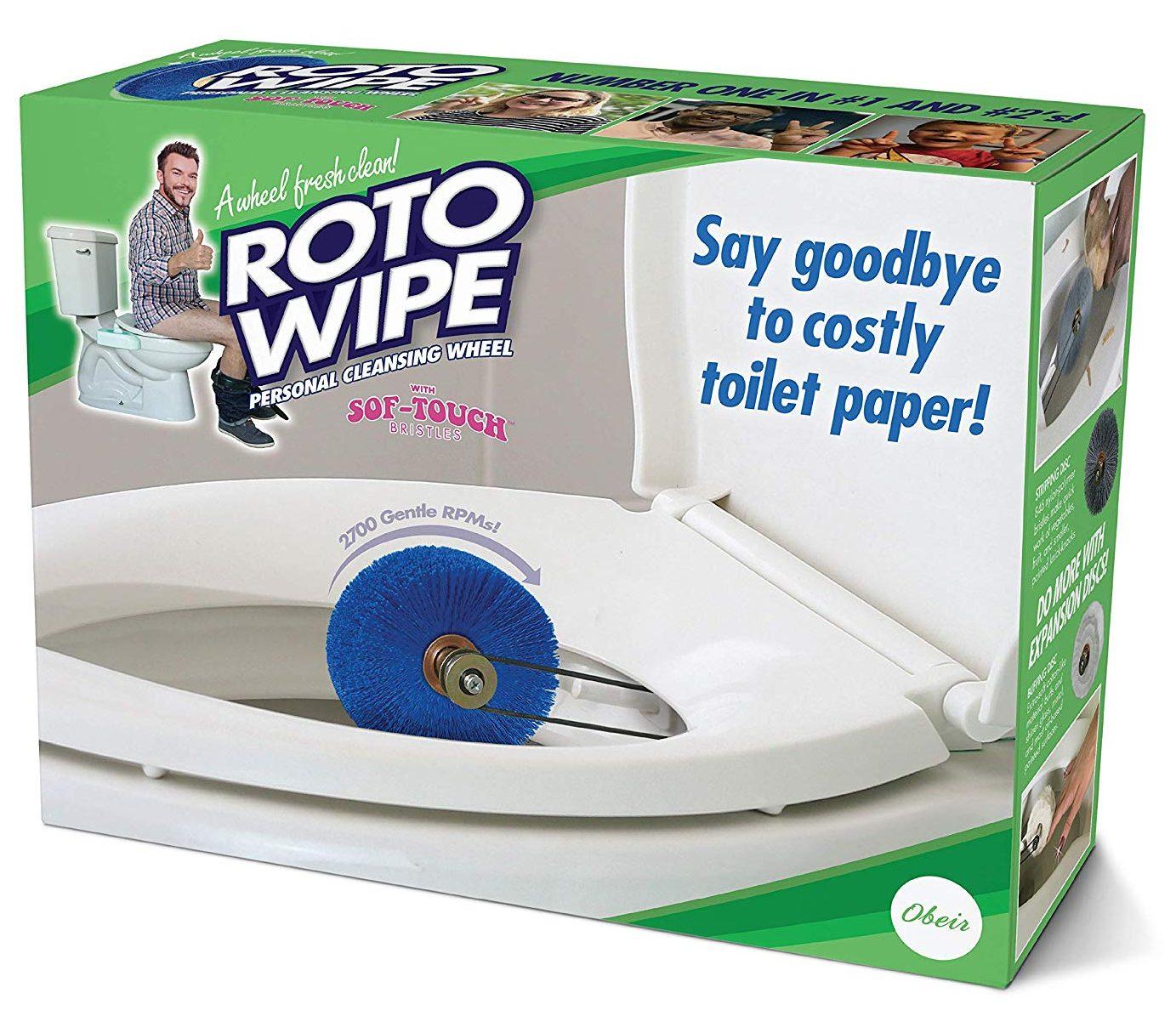 best gag gifts rotowipe
